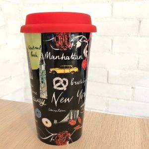 Anthropologie New York Urbania Travel Mug